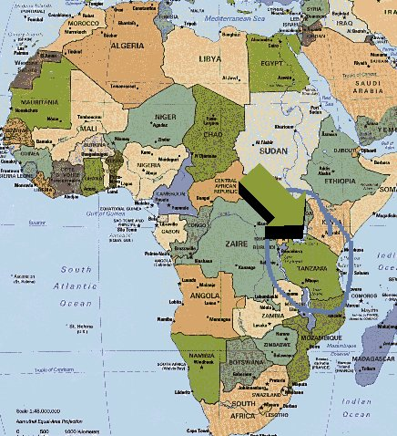 Where Is Kilimanjaro Travel The World - Africa map kilimanjaro